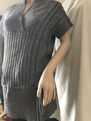 Authentic Long Cardigan grey