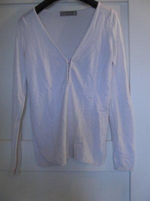 Schöner Strick-Pullover von Zara - Gr. S - weiß