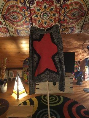 Maglione lavorato a maglia multicolore