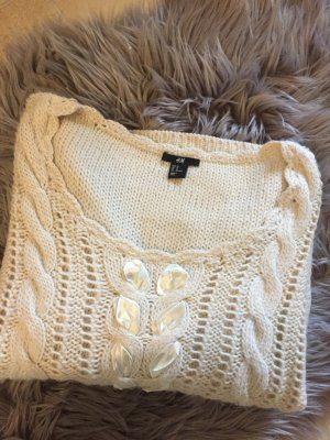 H&M Knitted Sweater multicolored wool