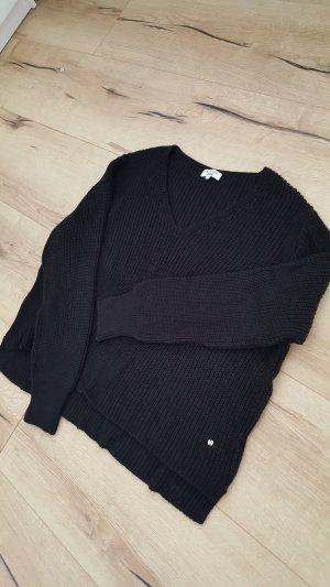 LENA GERCKE X ABOUT YOU Oversized trui zwart