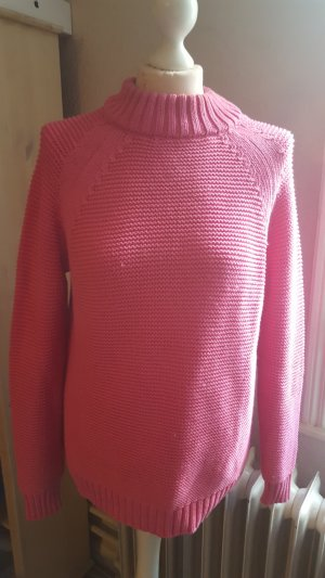 Schöner Strickpullover pink