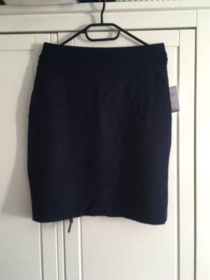 Tahari Jupe tricotée bleu foncé