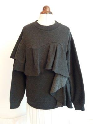 Schöner Sweater mit Volants von Asos Gr. 36