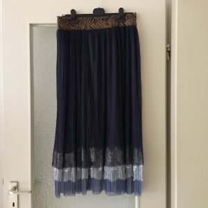 Falda de tul multicolor