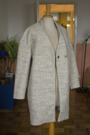 schöner Übergangs Mantel mit Wollanteil