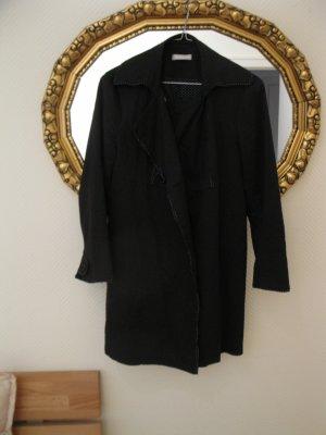 Schöner Übergansmantel (trench coat) von Promod in Schwarz, D34-36