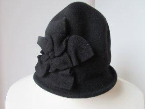 Loevenich Cappello di lana nero Lana vergine