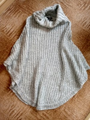 Biba Turtleneck Sweater grey wool
