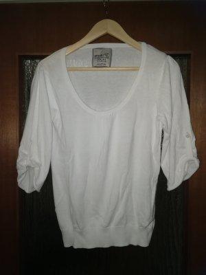 Schöner weißer Pullover 3/4 Arm