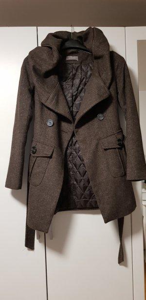 Orsay Abito cappotto marrone-grigio