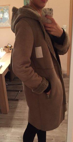 C&A Manteau à capuche beige-chameau