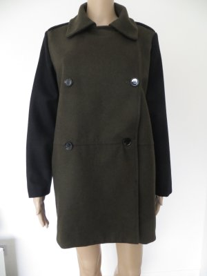 Mango Wool Coat multicolored