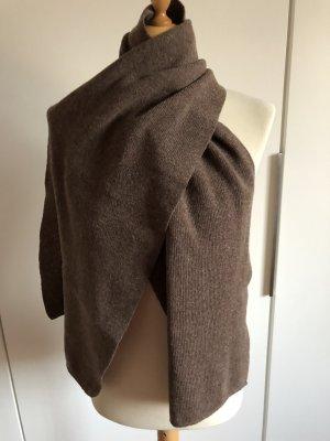 Street One Wollen sjaal grijs-bruin