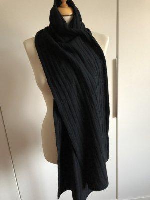 Wollen sjaal zwart