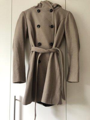 s.Oliver Wool Coat grey brown