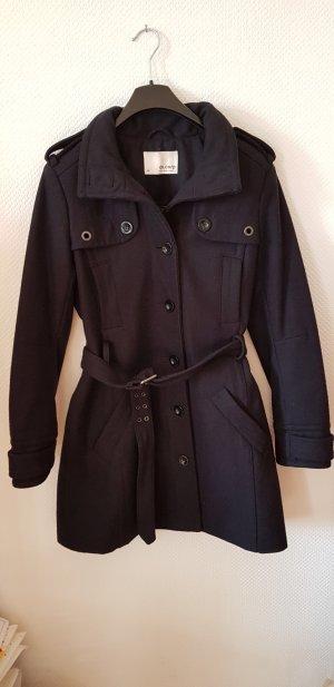 Schöner Wollmantel schwarz von ESPRIT, Größe:36