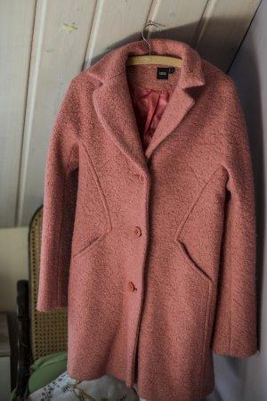 Asos Cappotto in lana rosa