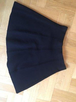 Schöner Wollrock Gr S von Zara in dunkelblau