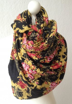 H&M Scarf black-red