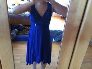 Schönes Abendkleid in blau zu verkaufen