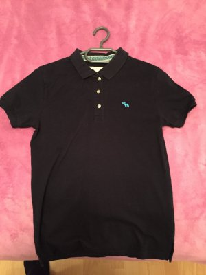 Abercrombie & Fitch Shirt donkerblauw