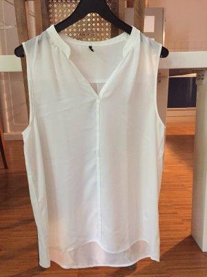 Schönes ärmelloses Top / Bluse von Soyaconcept, weiß, Gr XL