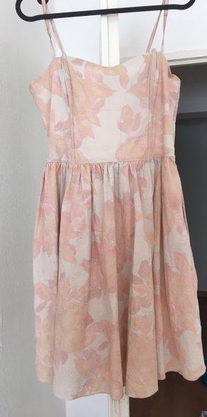 H&M Balloon Dress dusky pink
