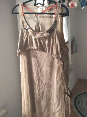 Angels Never Die Dress beige-orange
