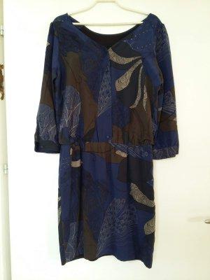 Schönes blau braun gemustertes Kleid von Quicksilver