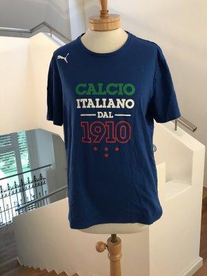 Schönes blaues Italien-T-Shirt von Puma
