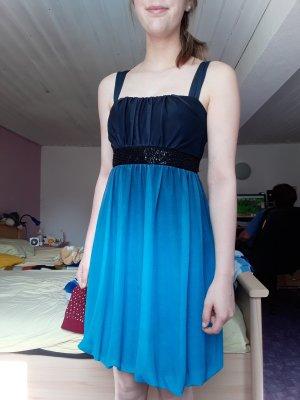 Schönes Blaues Kleid Gr. 36