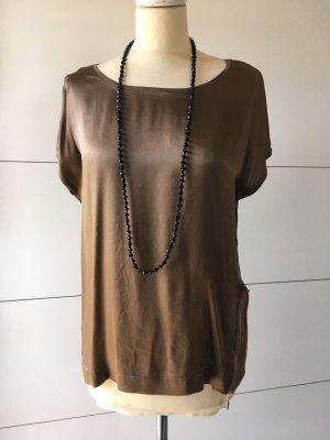 Schönes Blusen-Shirt von Hallhuber Donna mit Seide NP: 65€