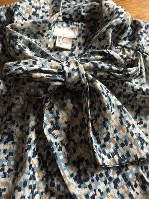 Schönes Blusenkleid gemustert, Gr 38