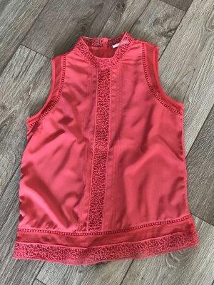 Promod Camisa de mujer rojo claro