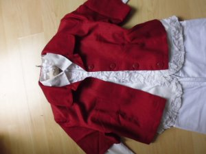 3 Suisses Bolero brick red textile fiber