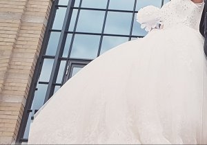 Wedding Dress white-oatmeal