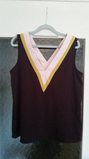 Schönes burgunderfarbenes Oberteil von Zara Basic