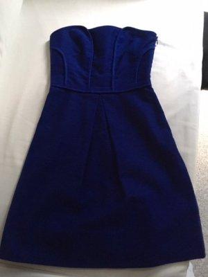 Comptoir des Cotonniers Bustier Dress blue