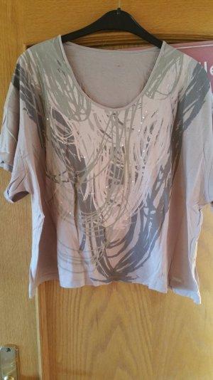 schönes Calvin Klein Shirt mit durchsichtigen Pailetten