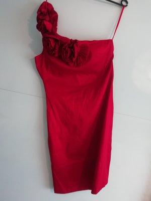 AX Paris Vestido de noche rojo-rojo ladrillo