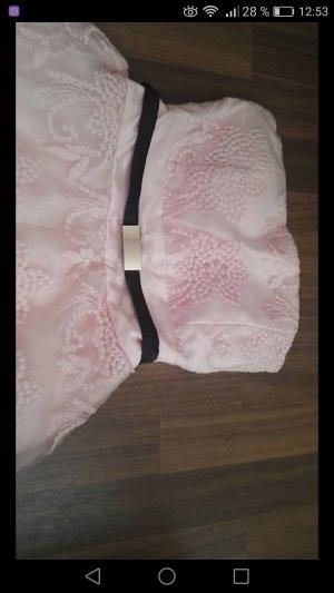 Off-The-Shoulder Dress pink
