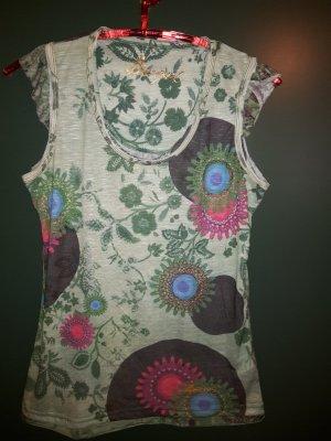 schönes Desigual Shirt Gr. XL in grün