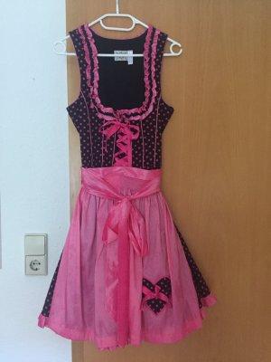 Schönes Dirndl (Landhaus Mode) in schwarz/pink