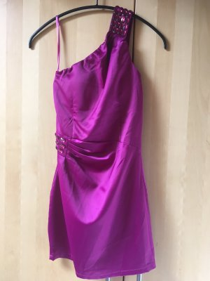 One Shoulder Dress pink