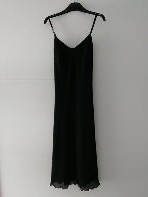 Schönes elegantes Abendkleid Midikleid schwarz Made in Italy (Gr. S)