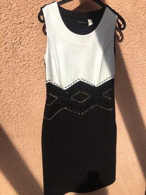 Amy Vermont Pencil Dress white-black