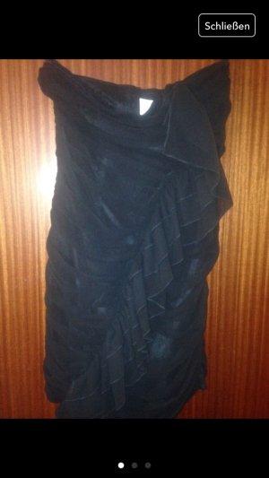 Vestido bustier negro