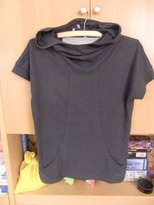 Esprit Camicia con cappuccio antracite Tessuto misto