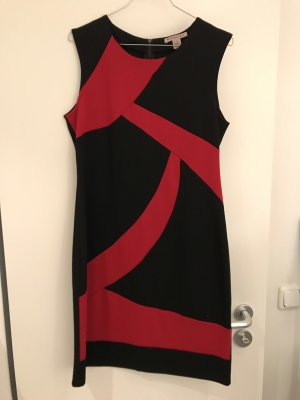 Anna Field Sheath Dress black-red
